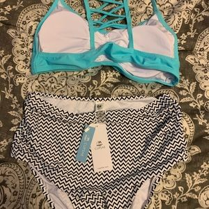 CupShe 2 piece bathing suit NWT!!!